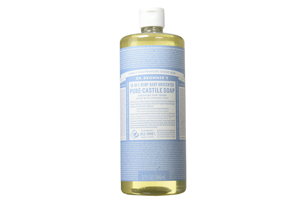 Dr Bronner's Liquid Organic Castile Soap